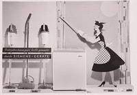 1955: Fitness while vacuuming