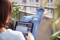 Mit der Home Connect App lassen sich Backofen und Co. von überall aus steuern.