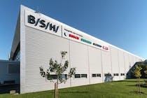 Im brandenburgischen Nauen produziert die BSH seit 1994 erfolgreich Premium-Waschmaschinen für den Weltmarkt.
